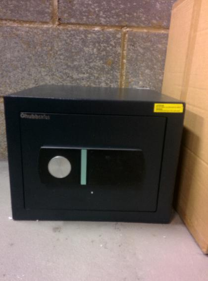 Chubb safe installed for a commercial customer